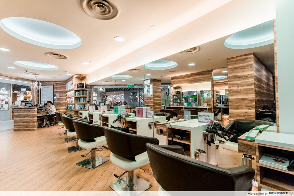 Korean Perms Singapore Salon CapitaLand Shopping Malls Apgujeong Hair Studio