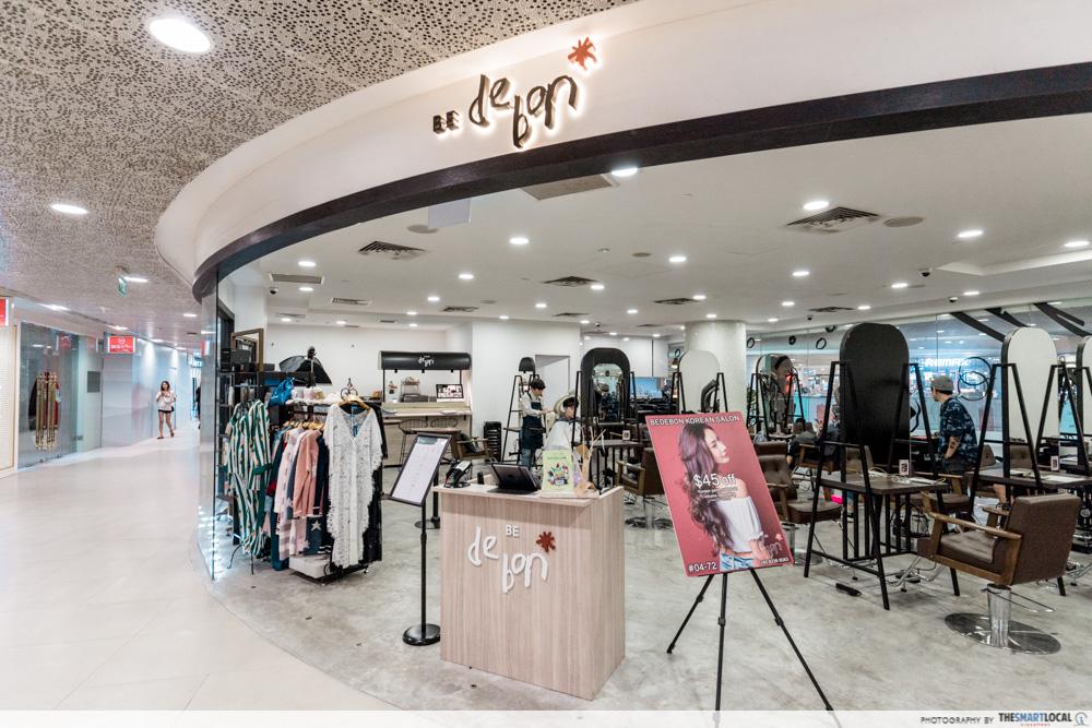Korean Perms Singapore Salon CapitaLand Shopping Malls Be De Bon Plaza Singapura Dhoby Ghaut