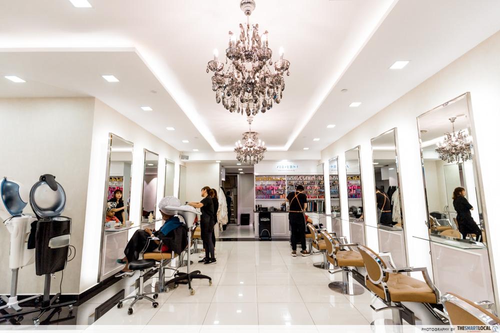 Korean Perms Singapore Salon CapitaLand Shopping Malls Hair Movement
