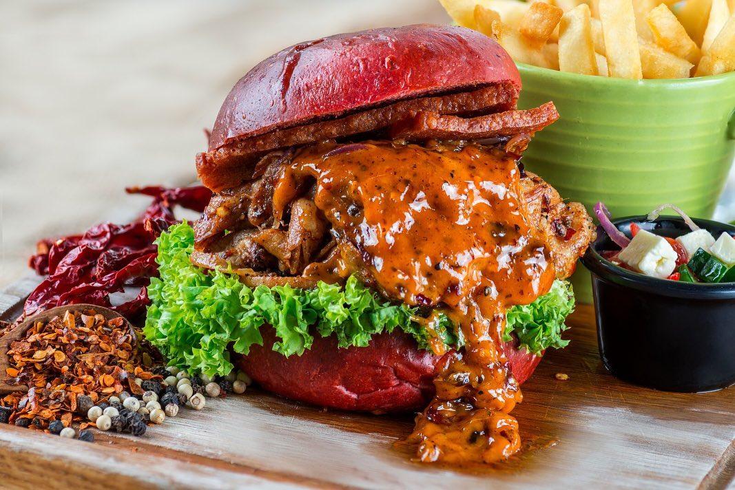 Mala Burger Grub Singapore