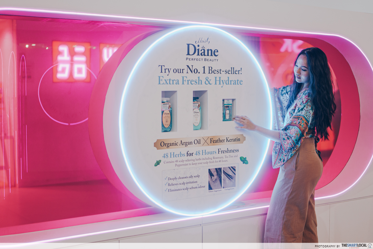 Extra Fresh & Hydrate is Moist Diane's best seller