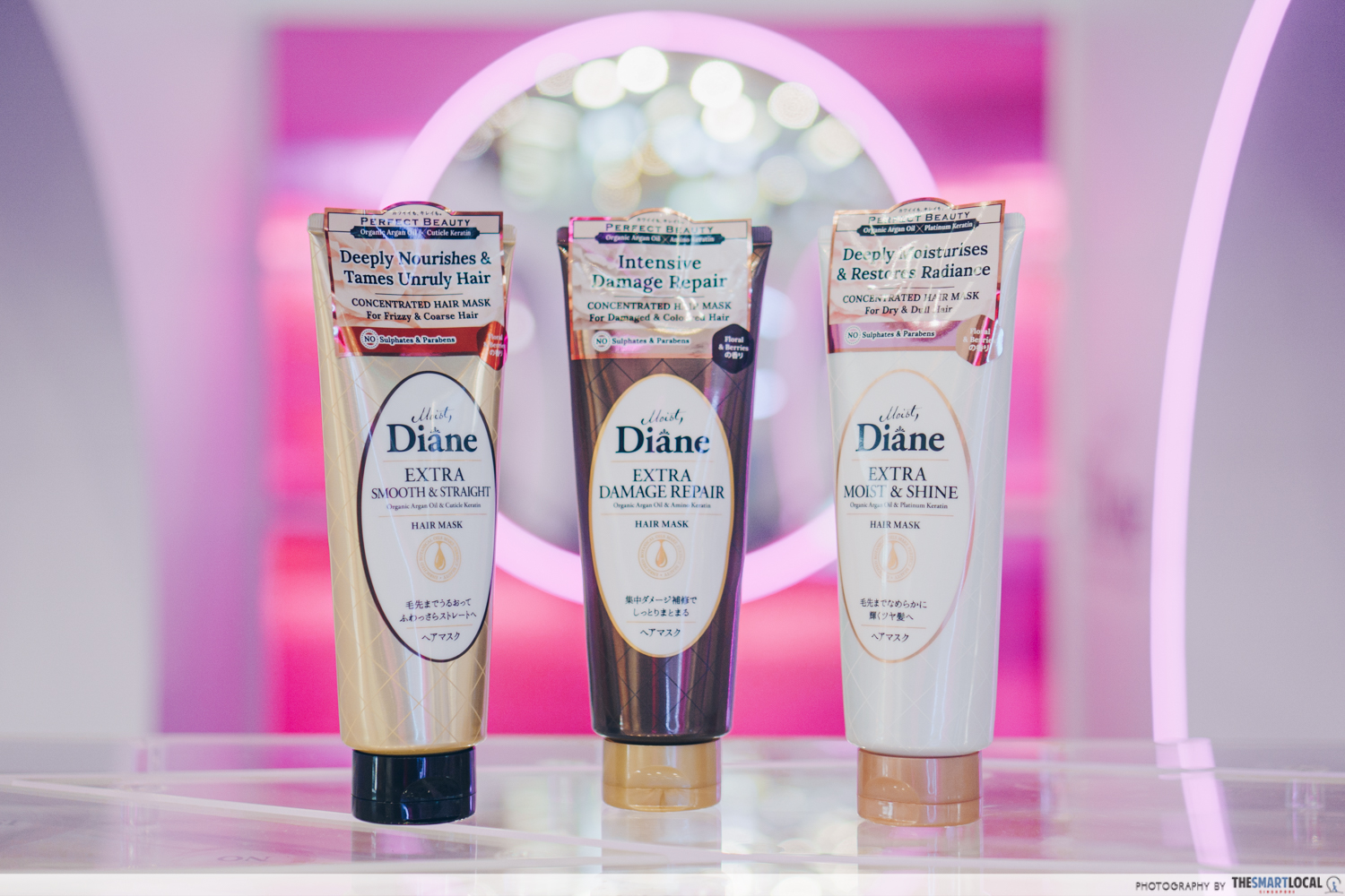 Perfect Beauty Hair Masks by Moist Diane