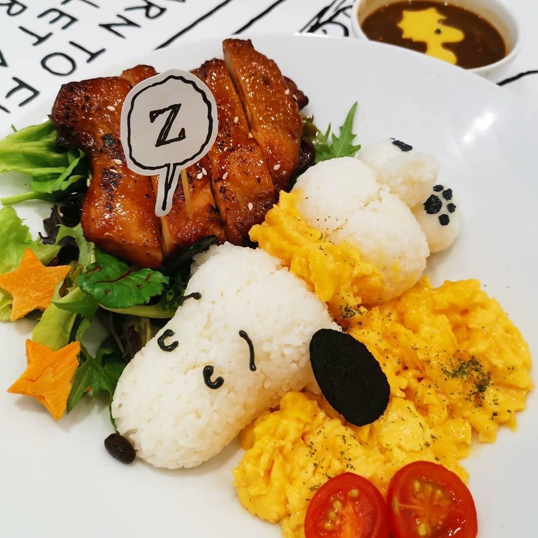Snoopy x Kumoya - snoopy dish