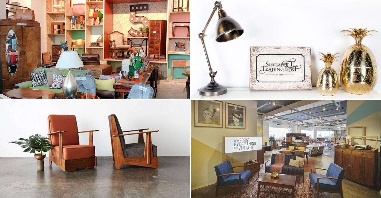 8 Secondhand Furniture Stores In Singapore For Refurbished Vintage