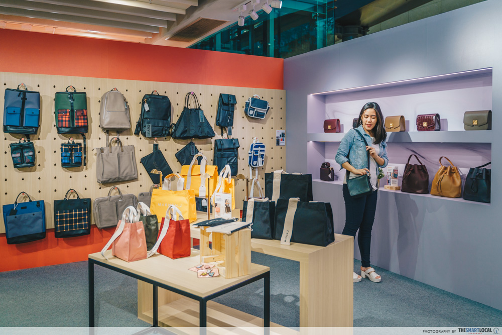 Sift & Pick Pop-Up 2019 Changi Airport Designer Bags Products Brands