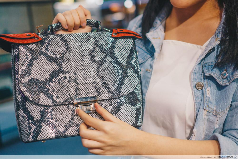 Sift & Pick Pop-Up 2019 Changi Airport Designer Bags Gepherrini Leather