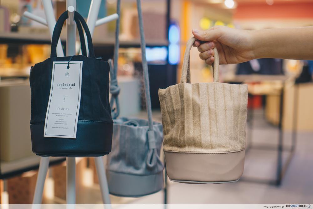 Sift & Pick Pop-Up 2019 Changi Airport Designer Bags Pale Petal