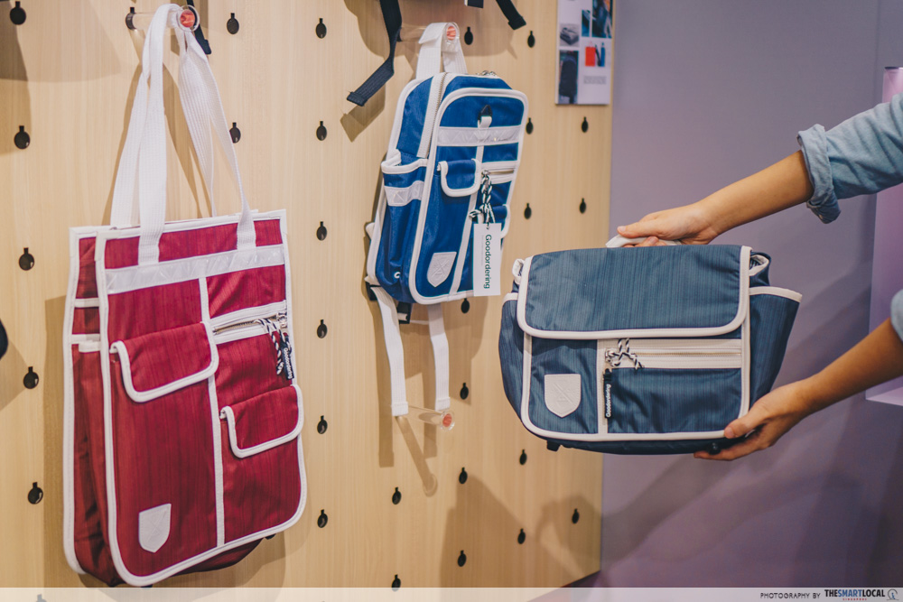 Sift & Pick Pop-Up 2019 Changi Airport Designer Bags Goodordering Cyclist