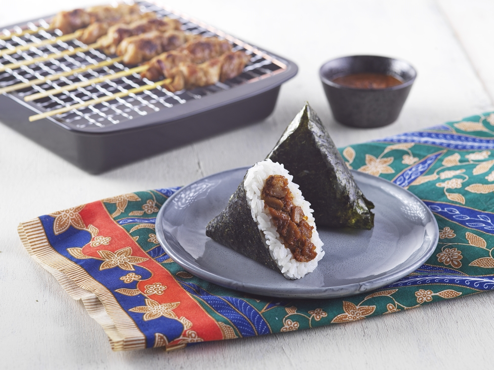 Satay onigiri