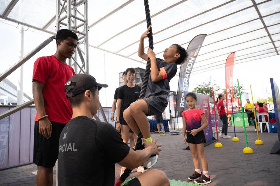 Singapore Sports Hub Summer Sports Jam Red-X Challenge