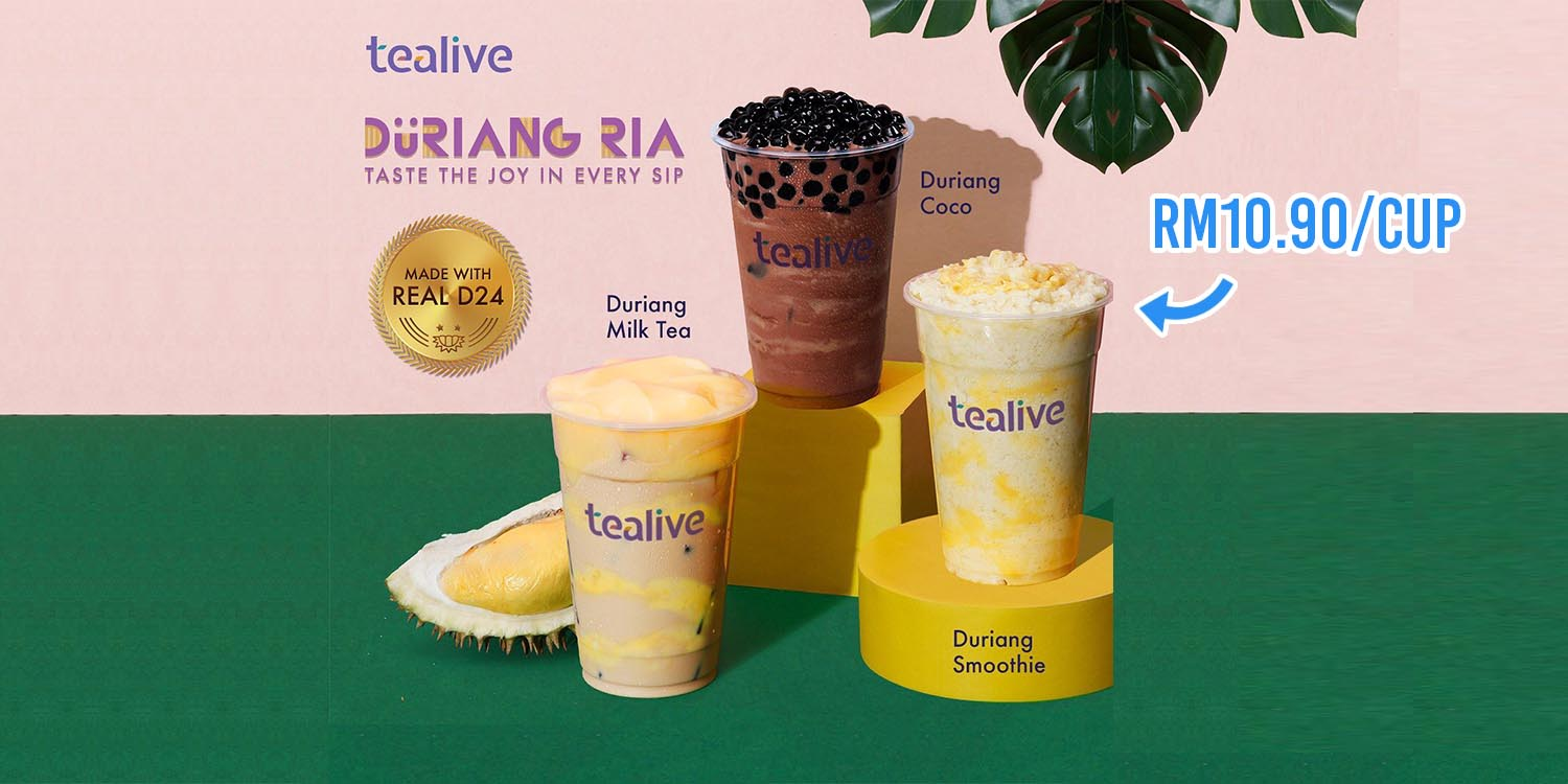 Tealive Durian Milk Tea Cover Image