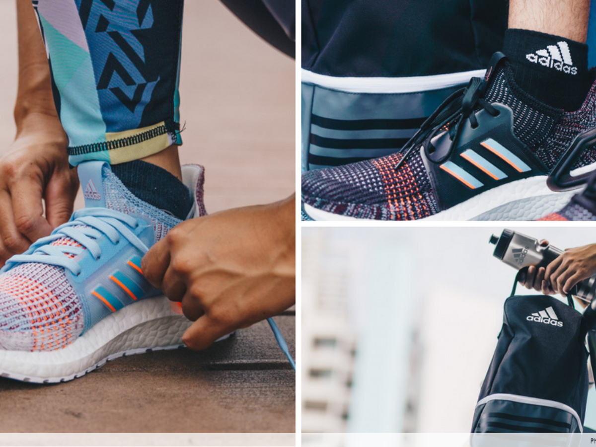 Test-Run Their New Ultraboost Shoes