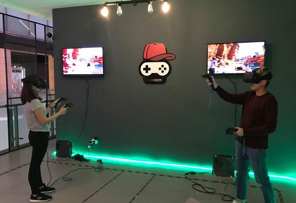 Vr Game Room Design