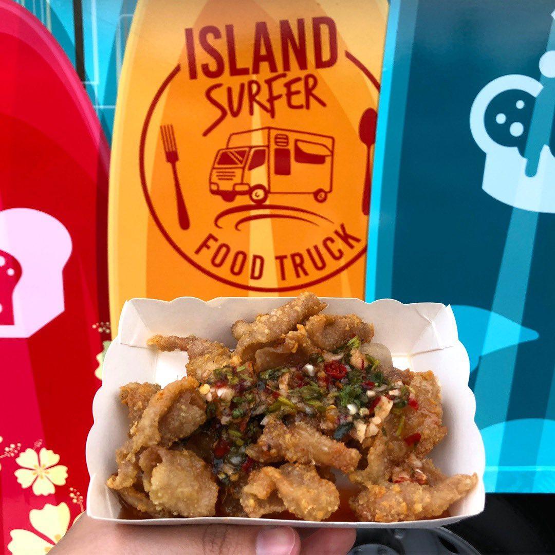 Island Surfer's Finger Food