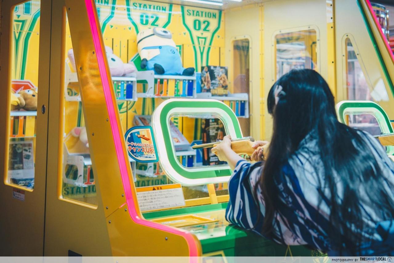 Kinosaki onsen town Takaraya Amusement Space arcade