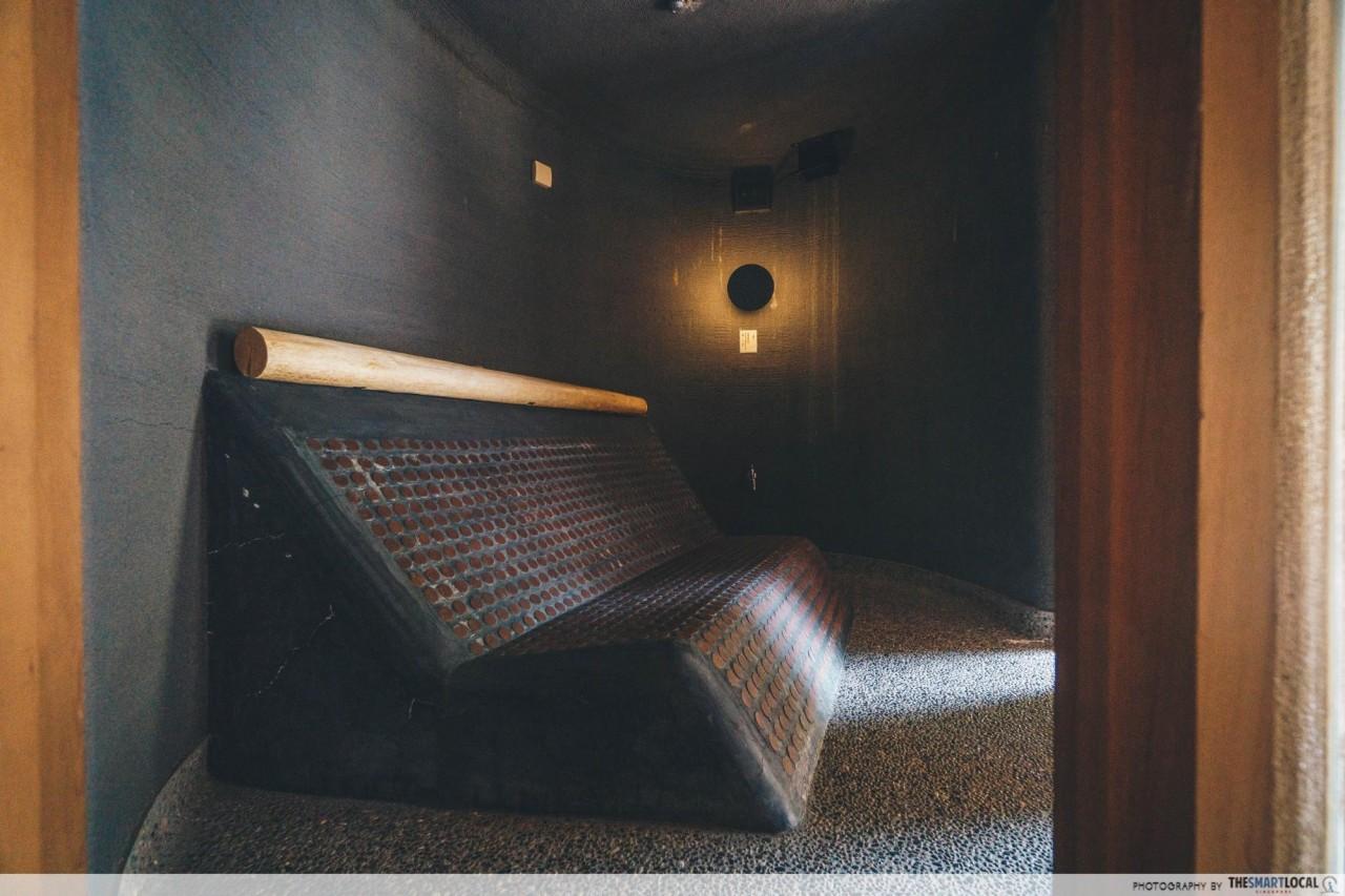 Nishimuraya Hotel Shogetsutei Kinosaki rock sauna private onsen