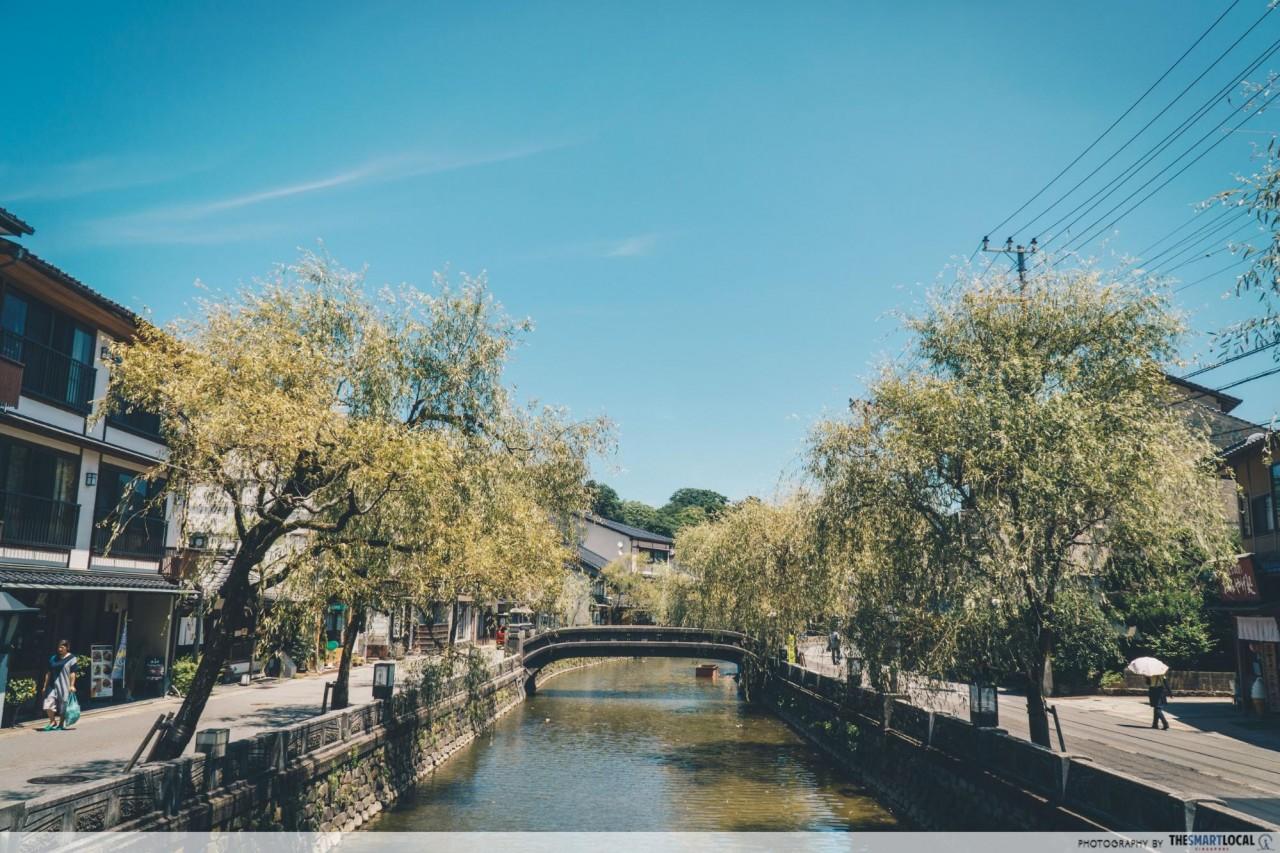 Kinosaki onsen town Otani River