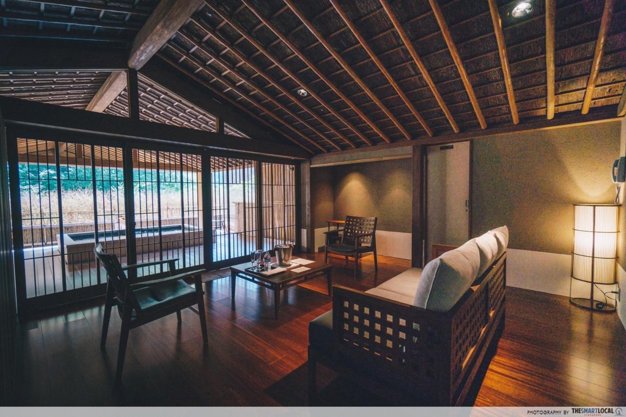 Nishimuraya Hotel Shogetsutei Kinosaki private onsen gingetsu