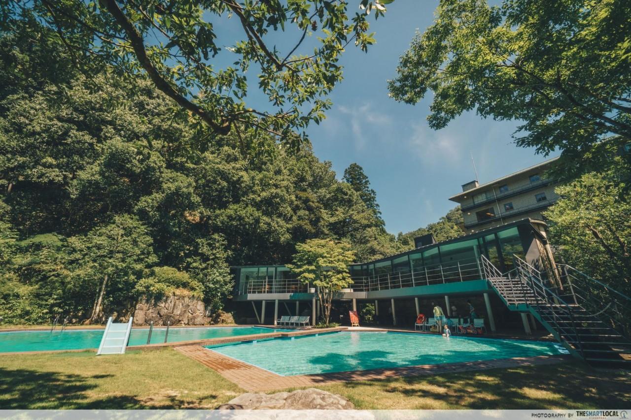 Nishimuraya Hotel Shogetsutei Kinosaki swimming pool