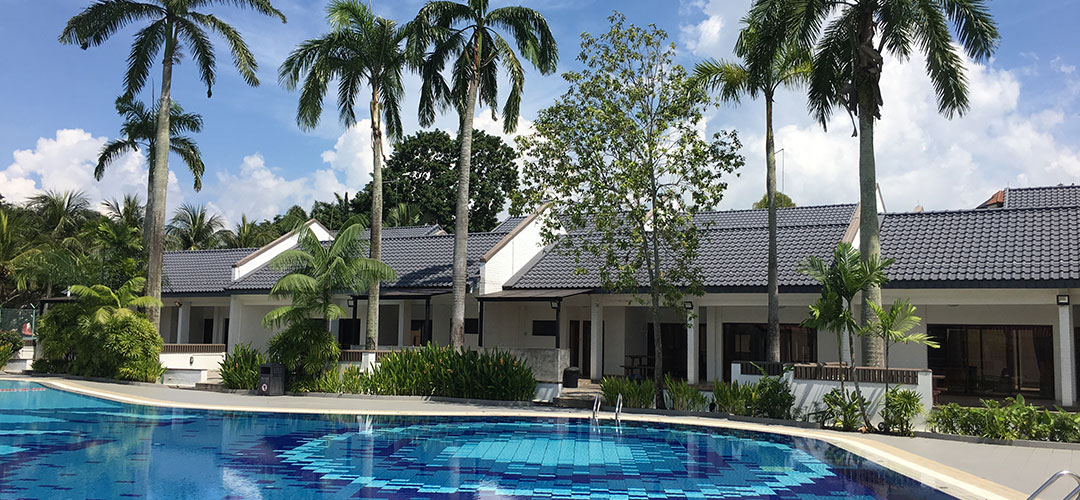 chalets in singapore - CSC loyang pool terrace