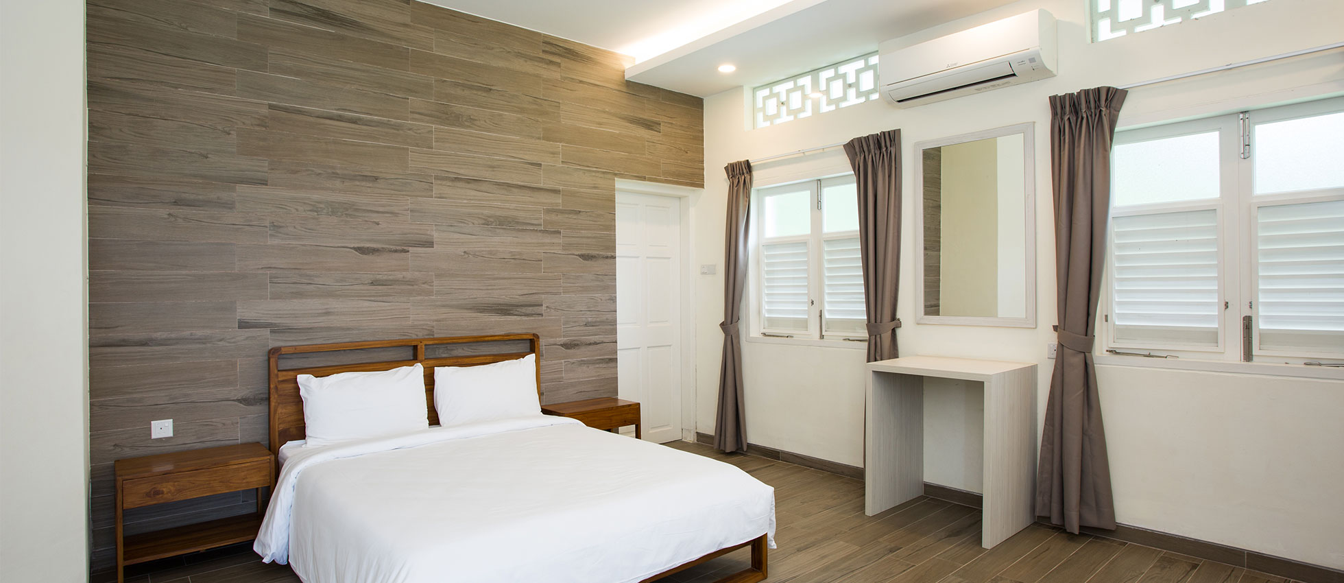 chalets in singapore - CSC Changi chalet bedroom
