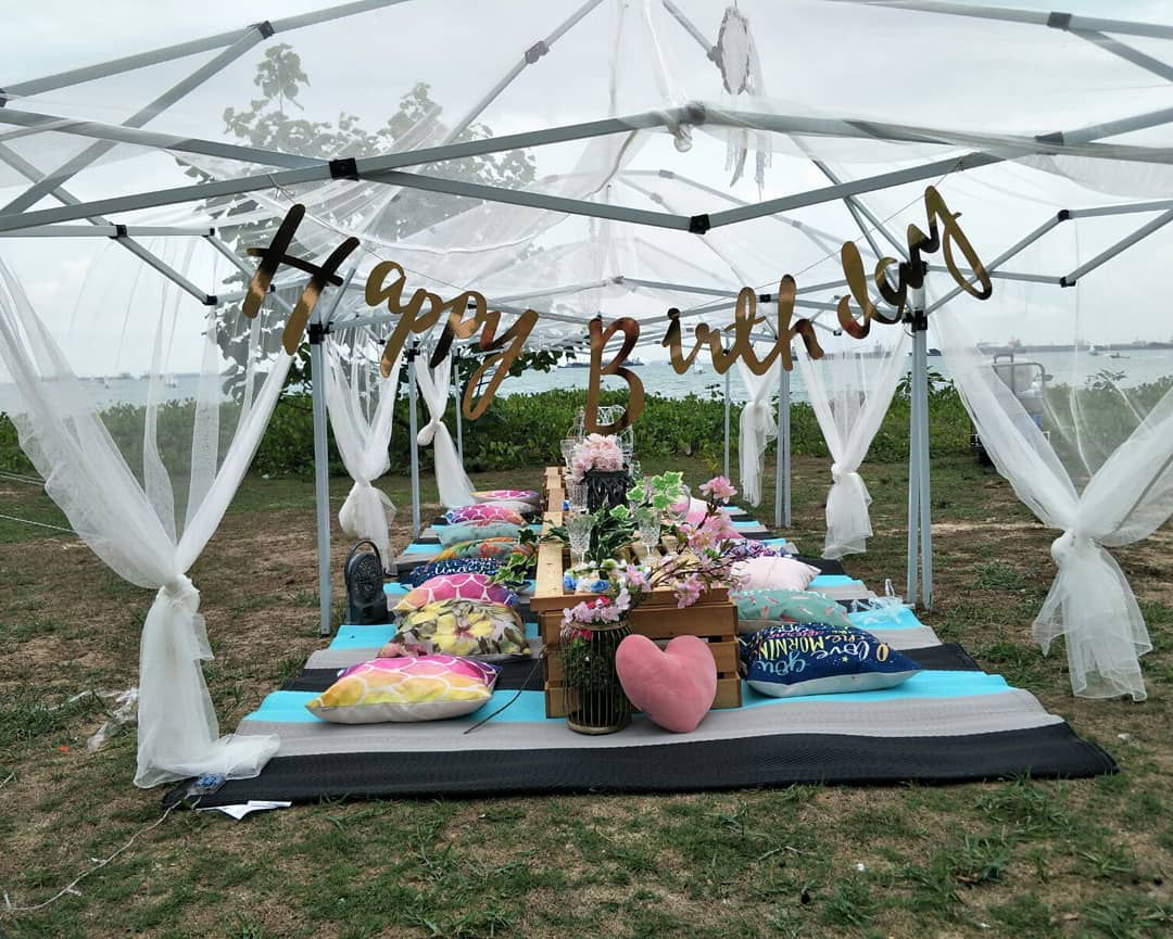glamping society birthday picnic