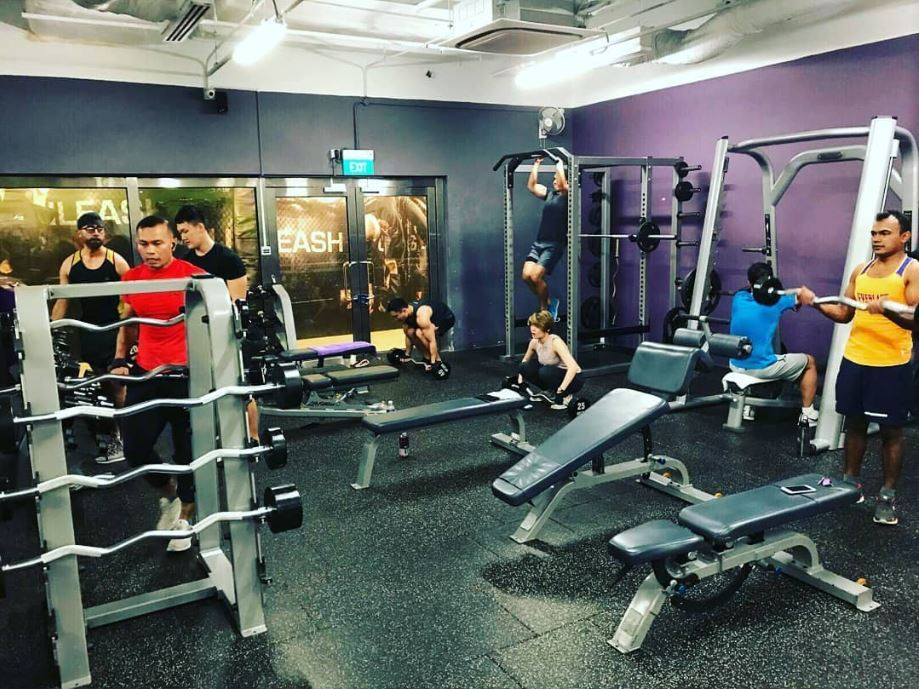 anytime fitness gym singapore