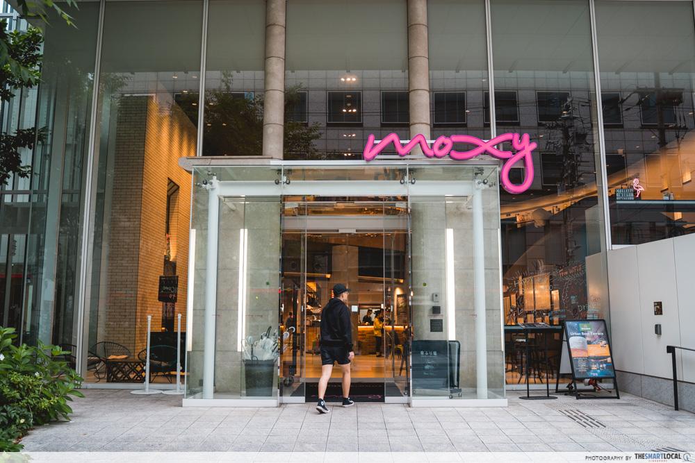 moxy hotel entrance