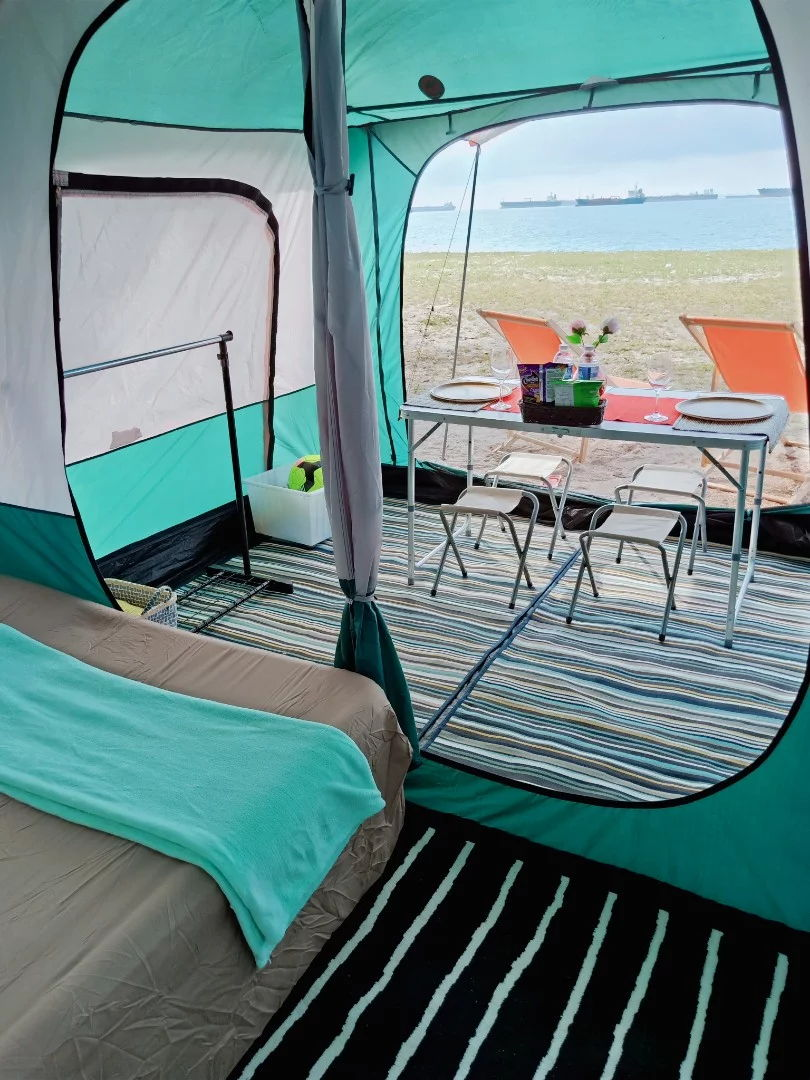 wowcamp tent interior glamping