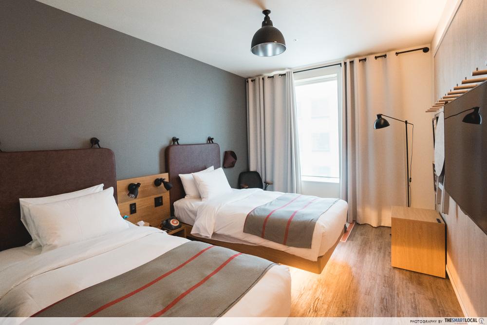 moxy osaka hotel room