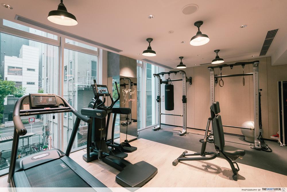 moxy osaka hotel gym