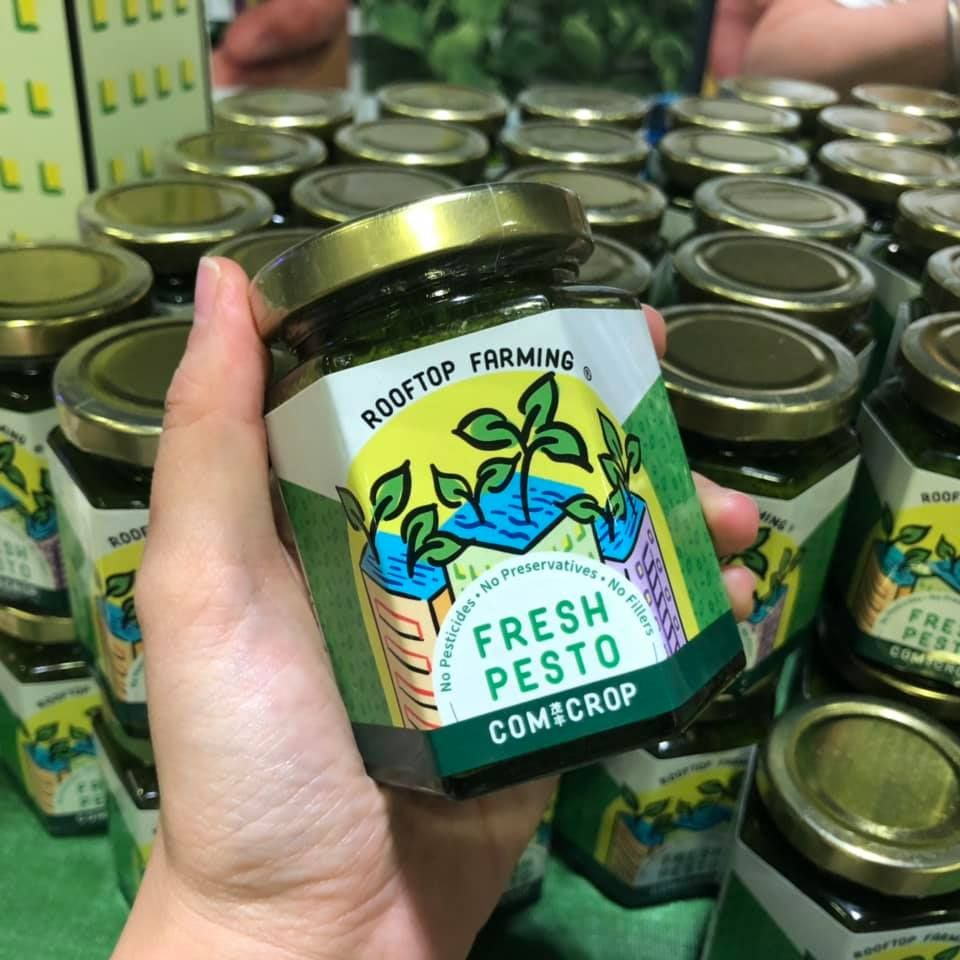 comcrop singapore fresh pesto