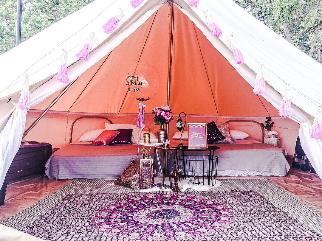 glamping city family suite