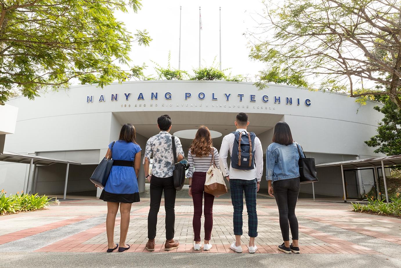 nanyang polytechnic entrance