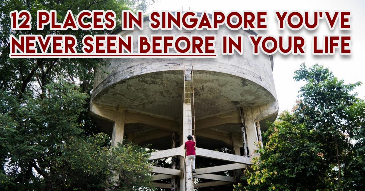 12 Places In Singapore You\'ve Never Seen Before In Your Life