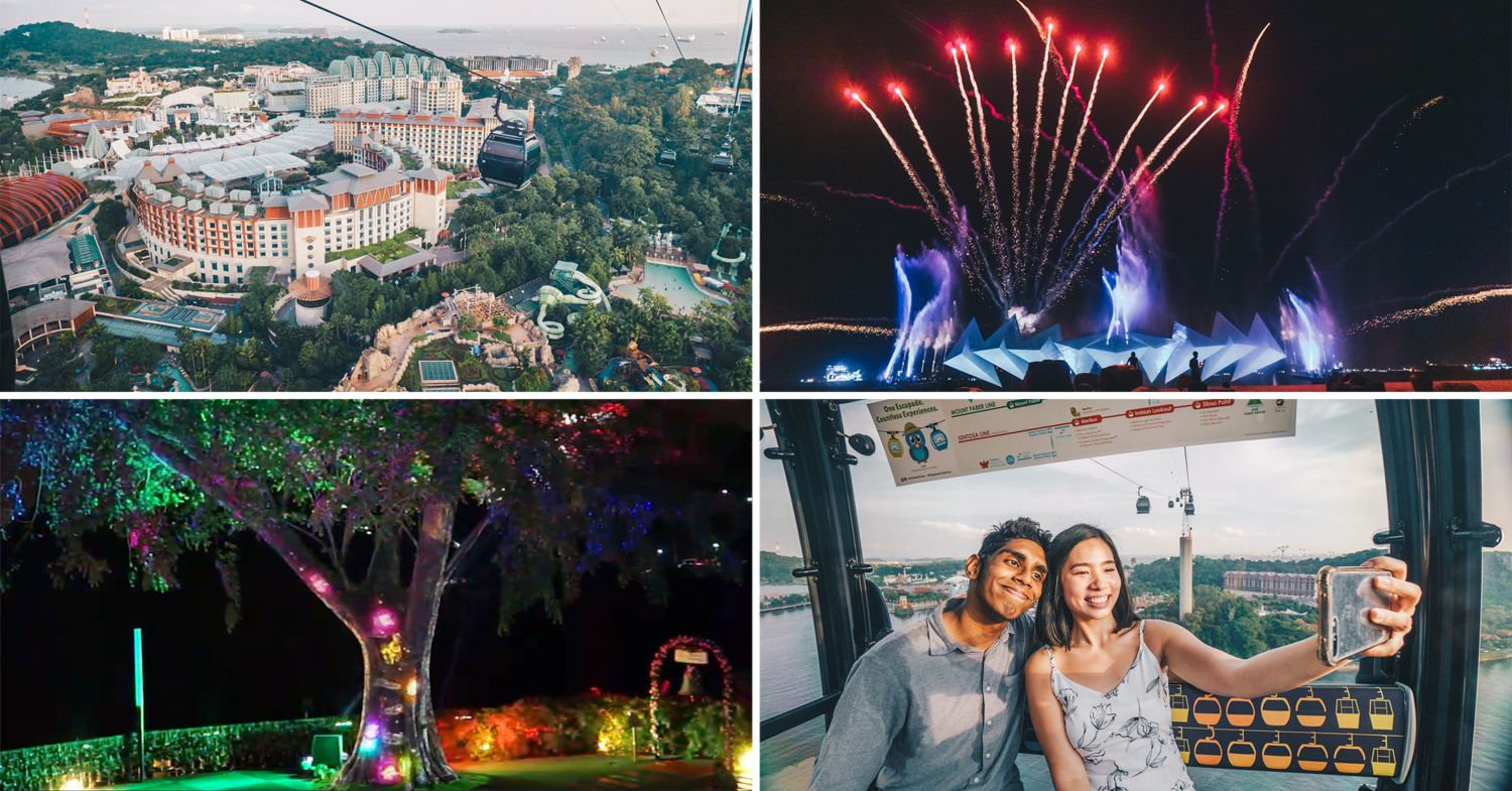 sentosa and faber peak cable car promotion