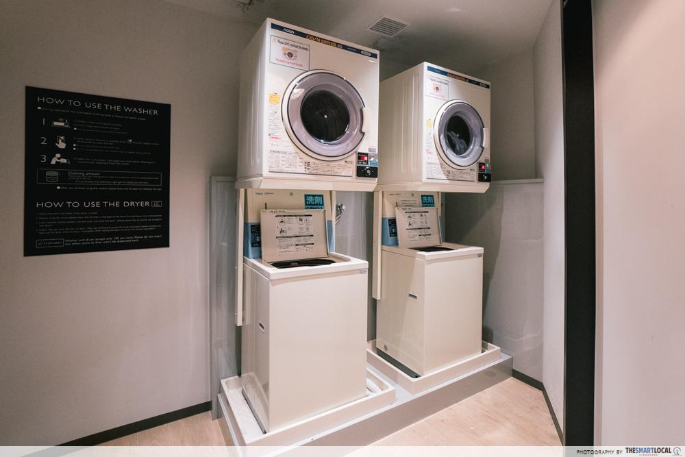 moxy hotel laundry room