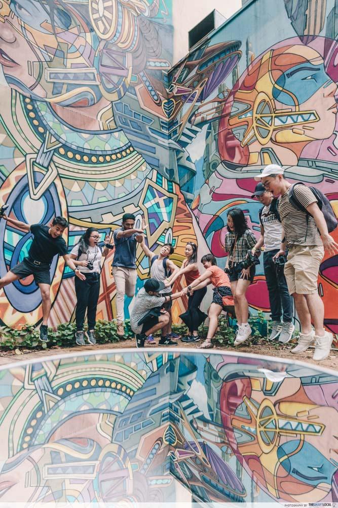 Group photo at Kampong Glam