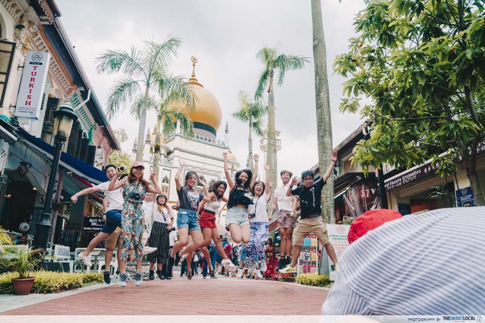 Jumpshot at Kampong Glam