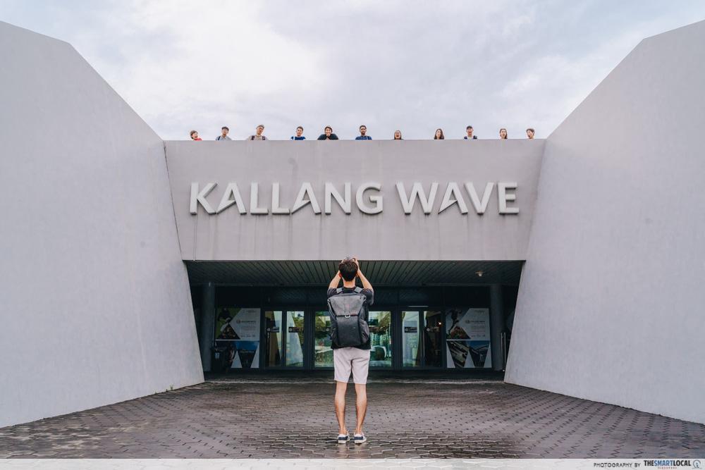Kallang Wave shot