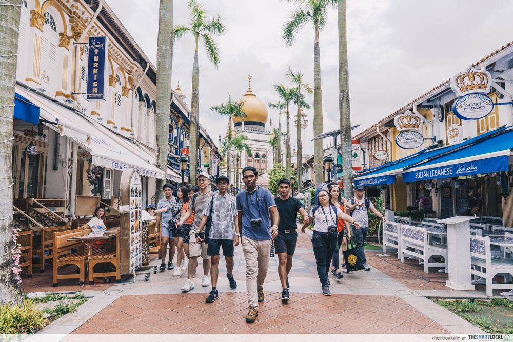 Insta walk at Kampong Glam