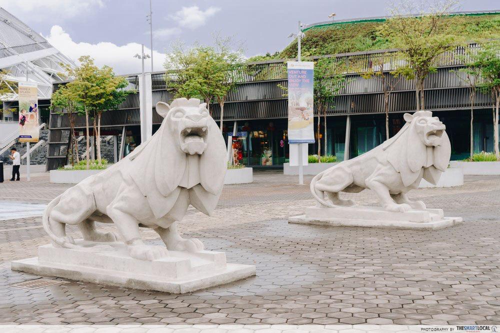Merdeka Lions at the Singapore Sports Hub