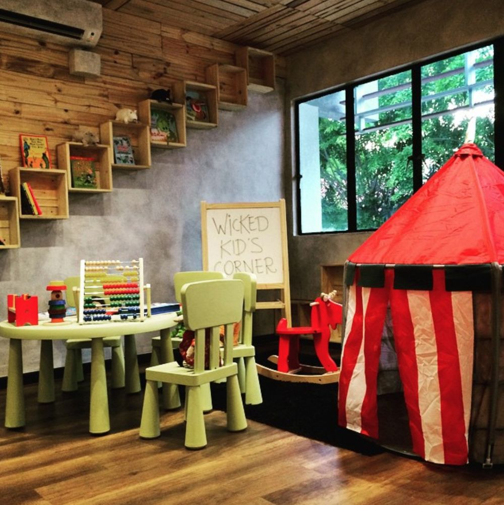 Wicked Pancake Parlour Kids Corner