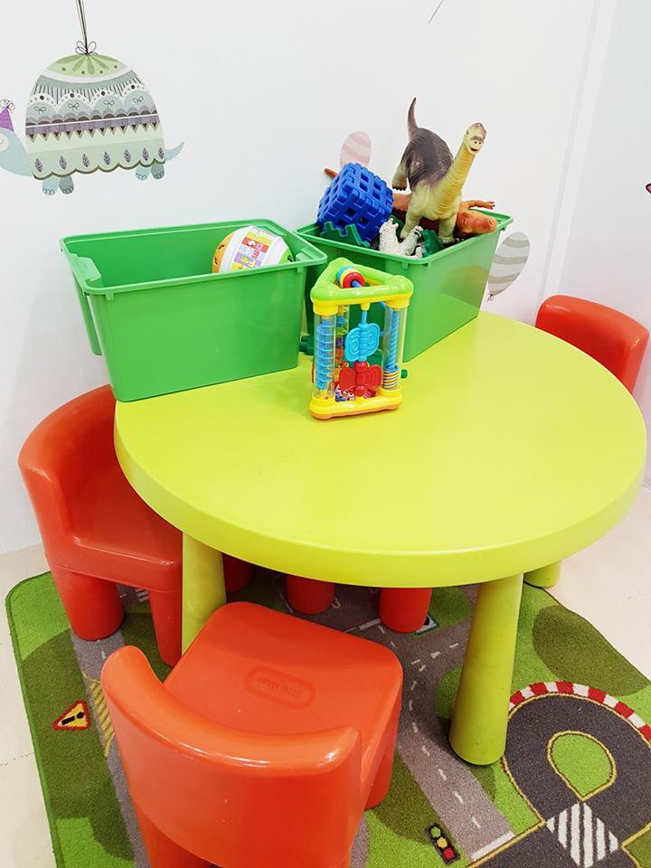 One Cut Above Kids play corner