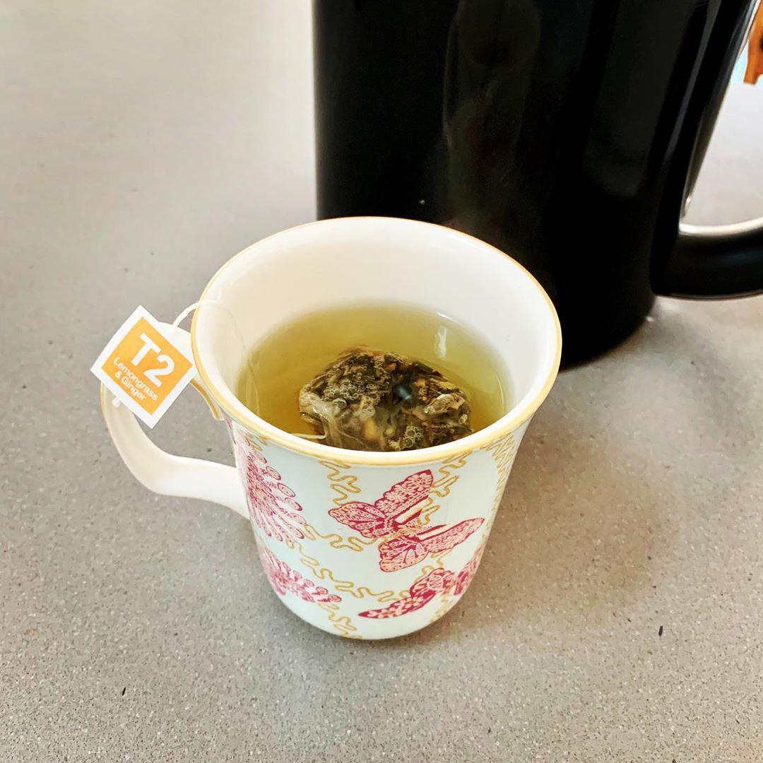 T2 tea close up