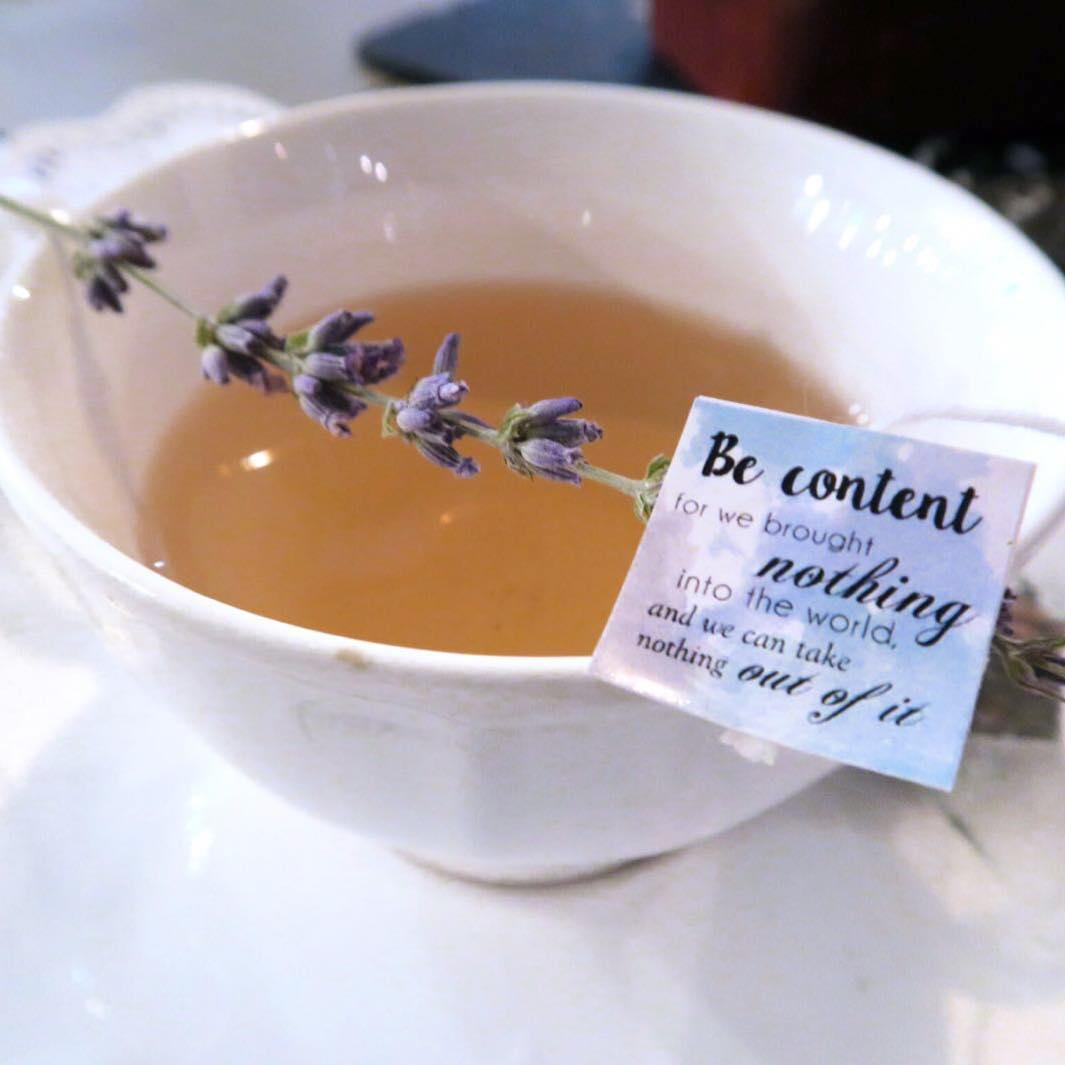 Collaboration tea close up