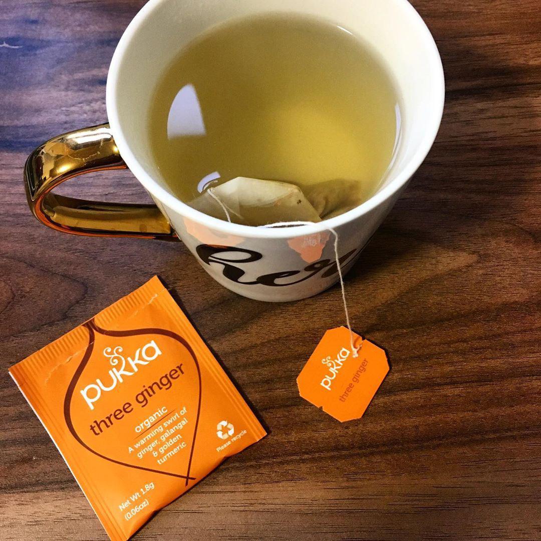 Pukka tea closeup