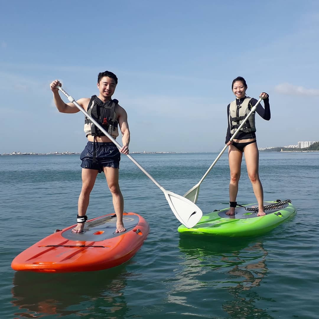 11 Water Activities In Singapore To Beat The Heat With When Swimming Gets Too Mainstream standup paddleboarding