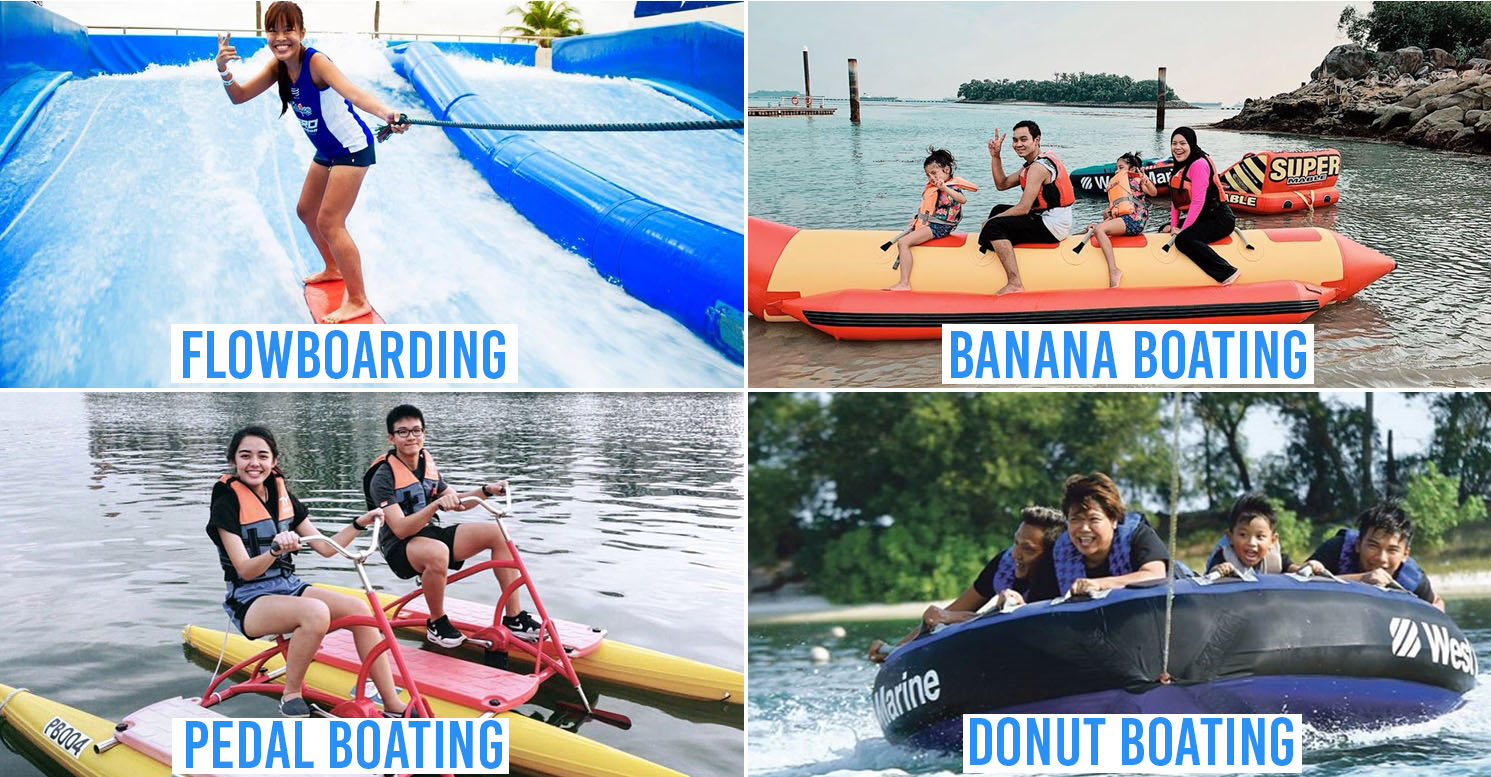 11 Water Activities In Singapore To Beat The Heat With When Swimming Gets Too Mainstream cover