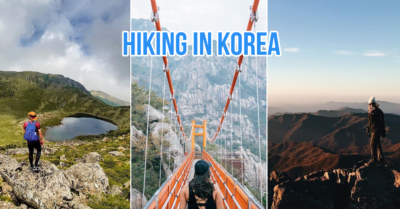 Hiking in korea cover